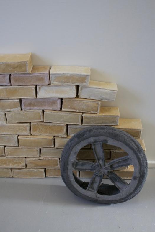 Tyre and Bricks